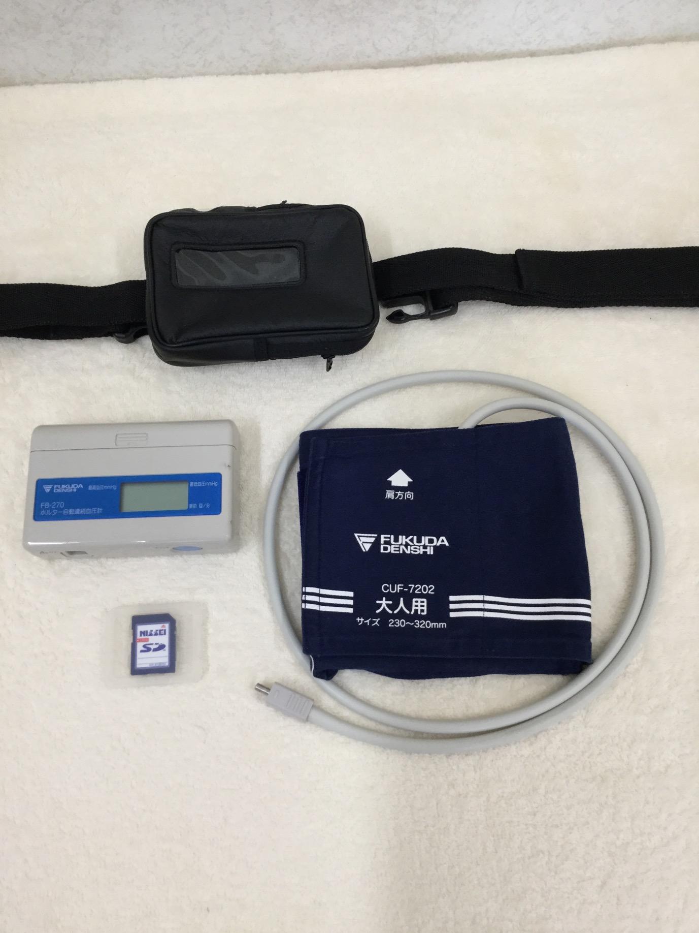 ホルター血圧計