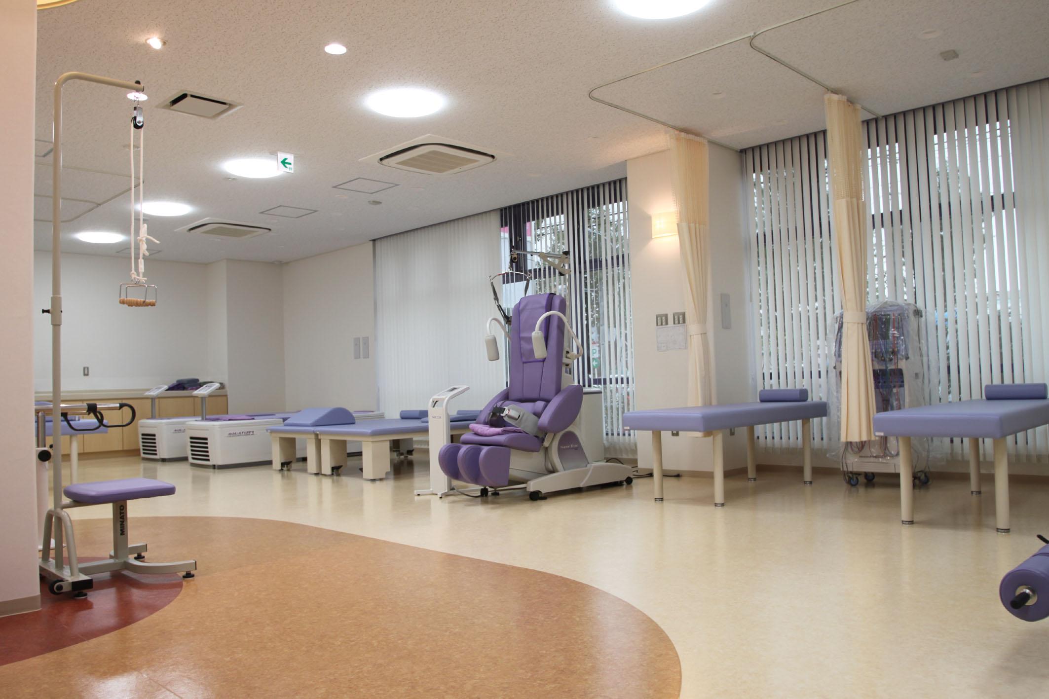 しばた整形外科ーリハビリ室
